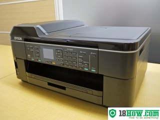How to Reset Epson PX-1600F flashing lights error