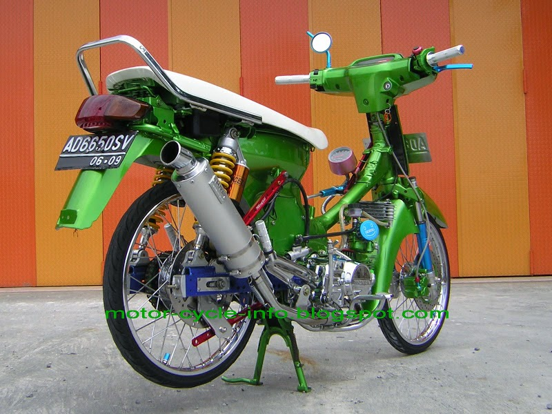 modifikasi motor honda astrea grand