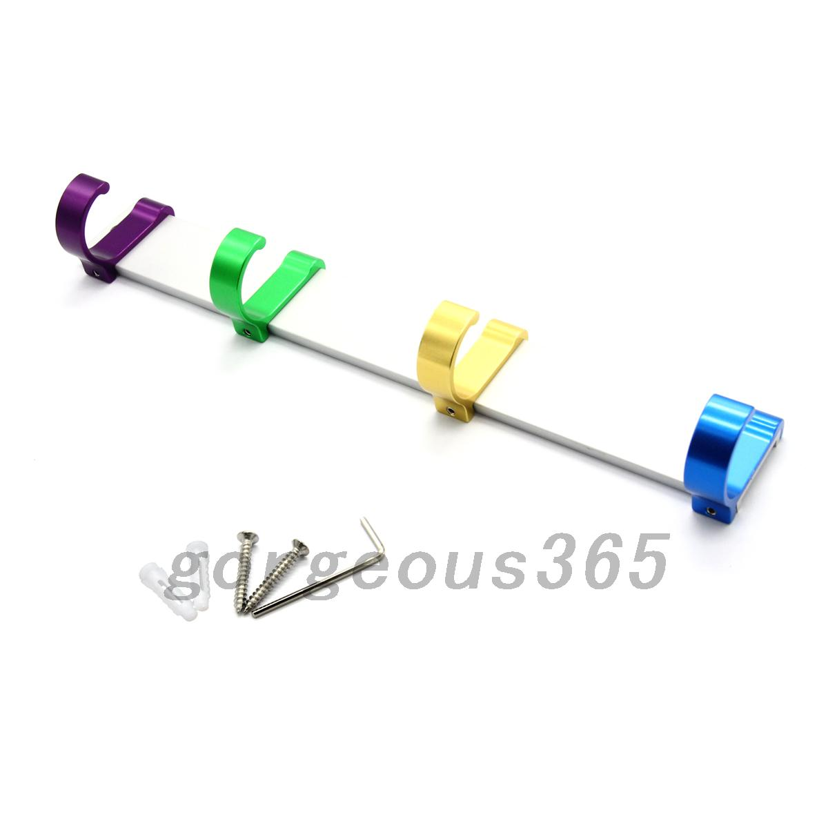 Convenient-Hanger-Bag-Clothes-Creative-Space-Aluminum-Colorful-Single-Row-Hook