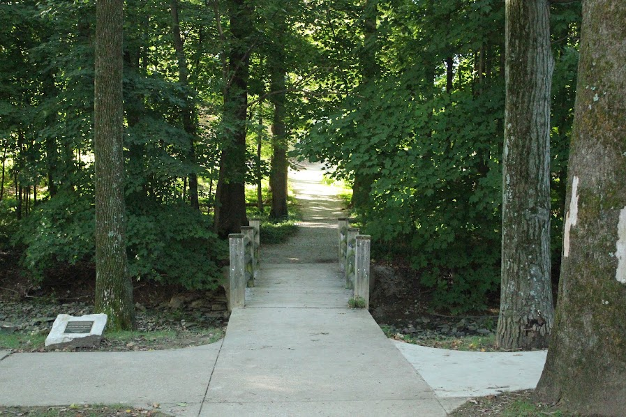 Path on IU campus, near the Art Museum