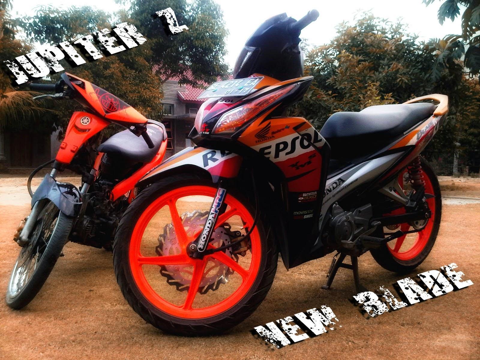 Modifikasi Motor Blade 125  Thecitycyclist