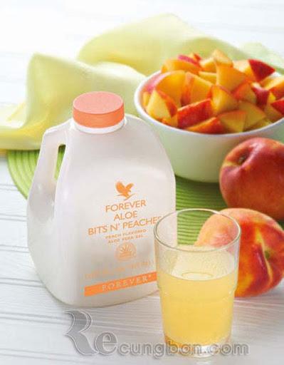 Nước uống dinh dưỡng Forever Aloe Bits N'peaches mã số 077