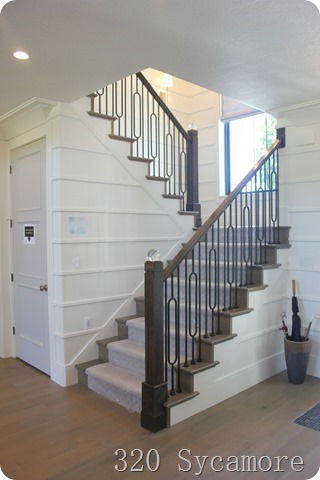 stair board batten horizontal