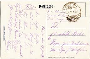 Pommersches Pionier postcard