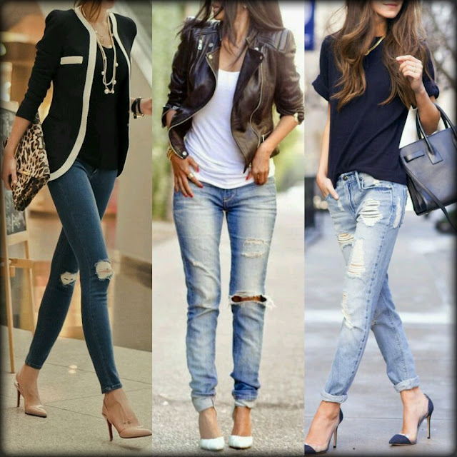 Outfit: Calça Jeans Destroyed com Estilo