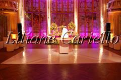 Fotos de decoração de casamento de Casamento Debora e Paulo no Clube Fluminense da decoradora e cerimonialista de casamento Liliane Cariello que atua no Rio de Janeiro e Niterói, RJ.