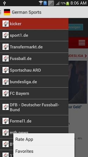 German Sports News
