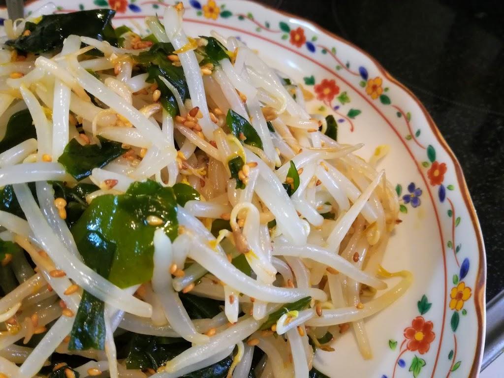 安い旨い簡単!もやし&乾燥わかめdeホットサラダの簡単レシピ ...