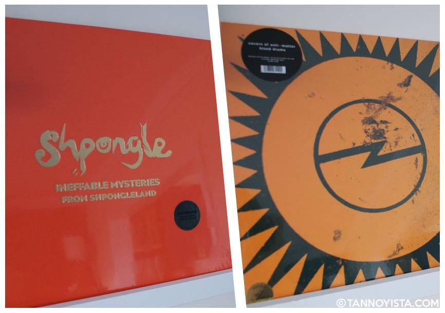 Shpongle and Cavern of Anti-Matter vinyl - Tannoyista.com