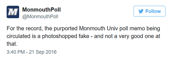 monmouth poll disclaimer