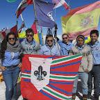 Con la Bandera Scout de los Mexicanos