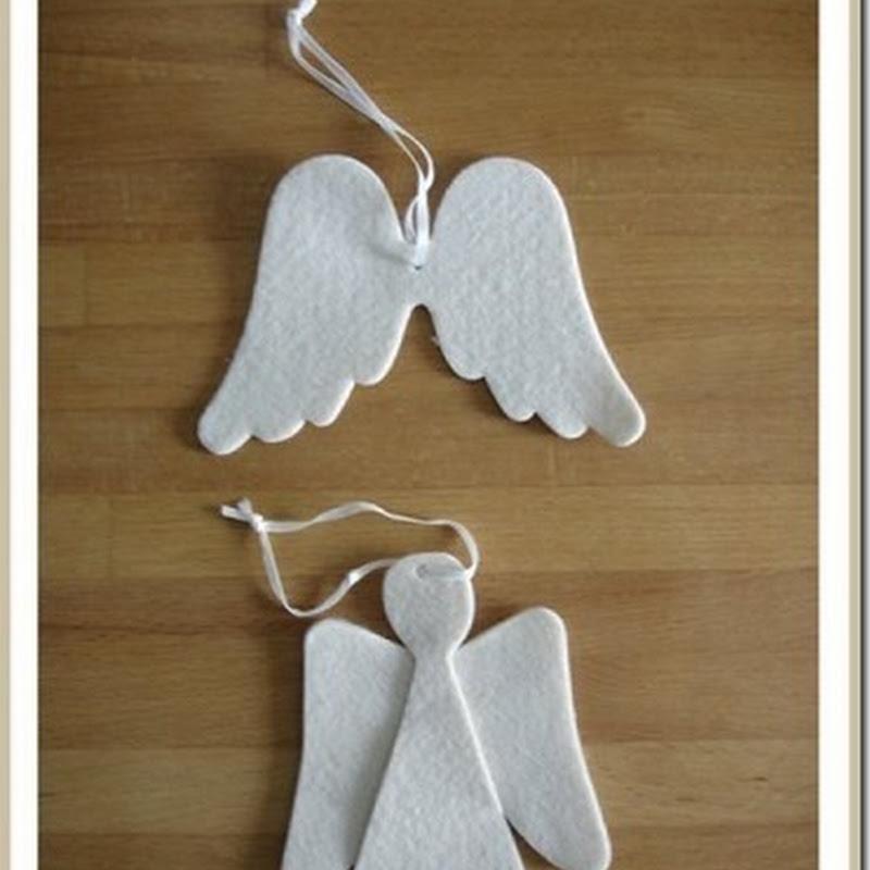 Angeles manualidades navidad para niños angeles