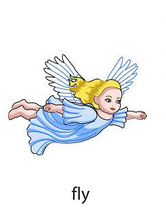 fly%2520 %2520flashcard Verb flashcard