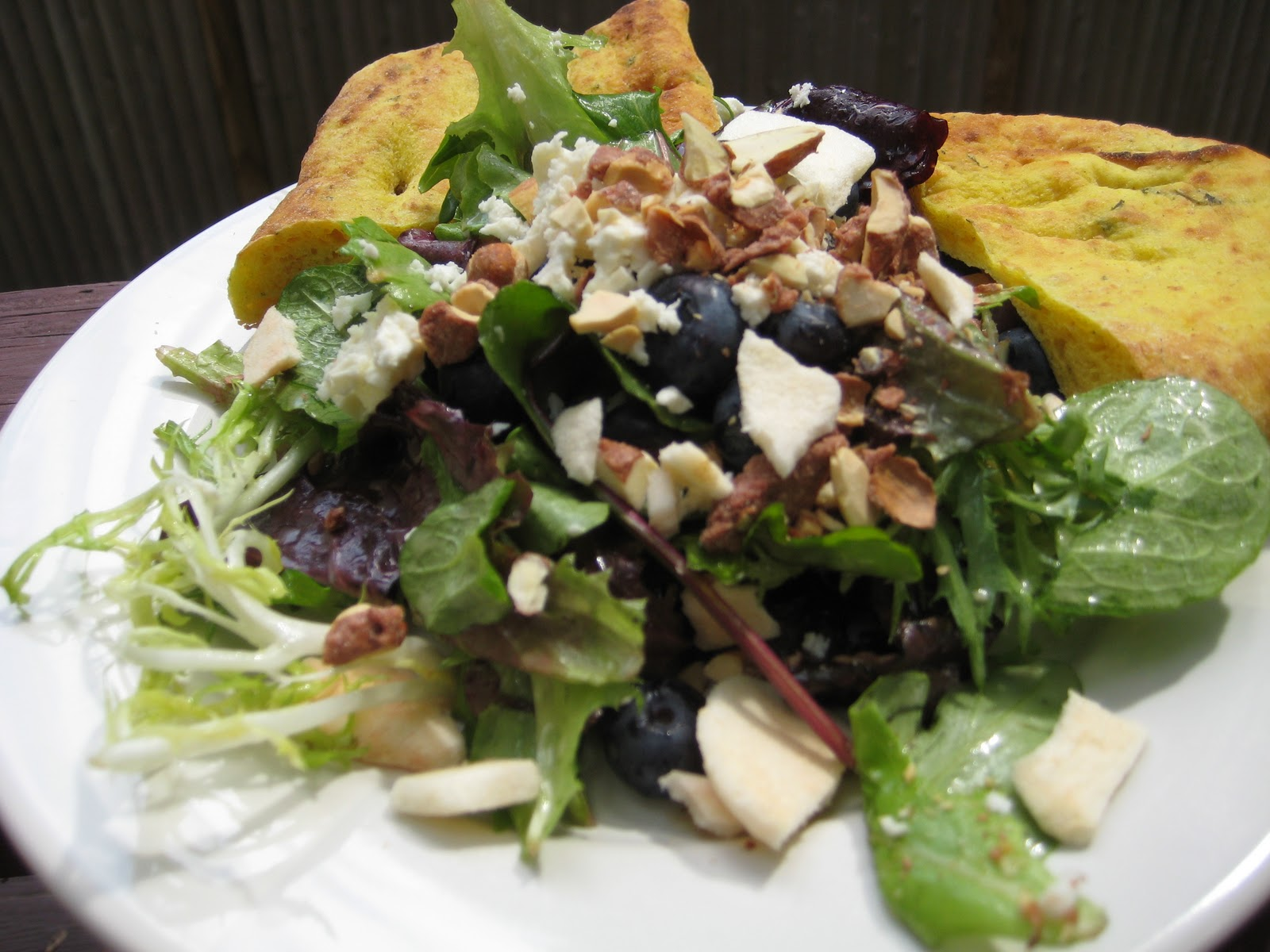 Sugar Betty Vermont Maple Blueberry Salad