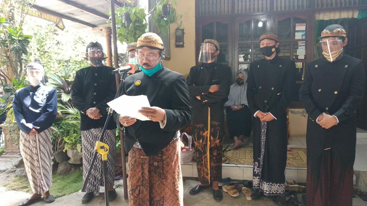 Budayawan Dan Seniman Kethoprak  Klaten Joko Krisnanto Berpulang. Di Iringi Isak Tangis Haru Para Takziah