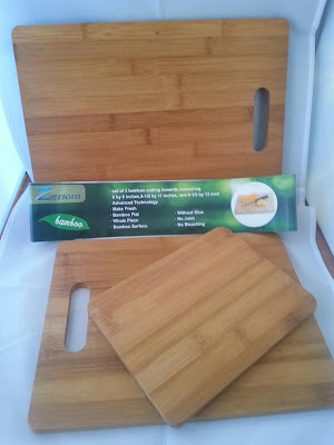 Set of 3 100% #Bamboo Cutting Boards