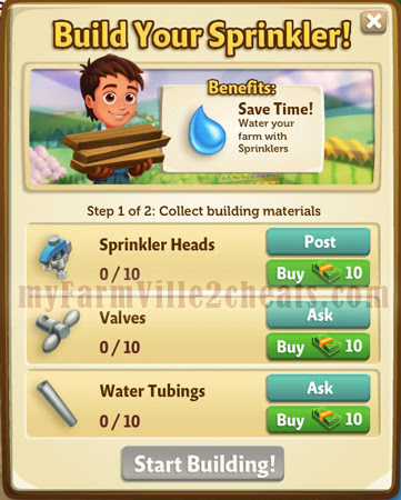 farmville-2-sprinklers-building requirement