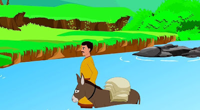 Lazy Donkey Story In Marathi Written