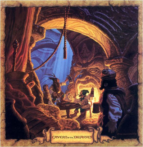 Cavern Of The Dwarves, Fantasy Scenes 3