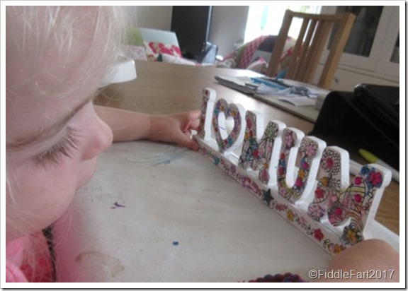 Mothers Day Crafting j