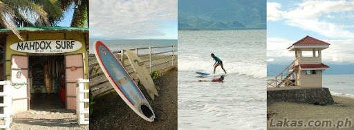 Surf in Sabang Beach