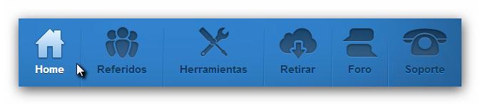 Adfly menu