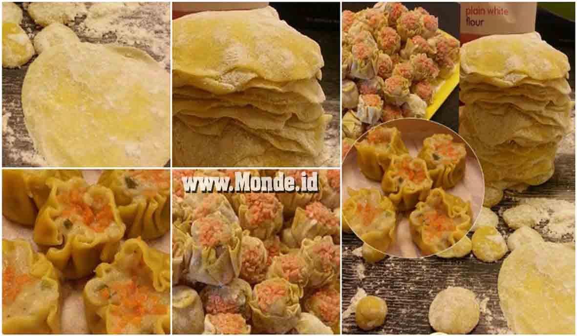 Silahkan bunda simak bagaimana cara menciptakan dan resep dari A Dini Yanti di bawah ini Resep Kulit Siomay Super Hemat. 15 Sdm Tepung Bisa Makara 140 Lembar!