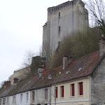 Château de La Ferté-Milon : depuis la rue de Meaux