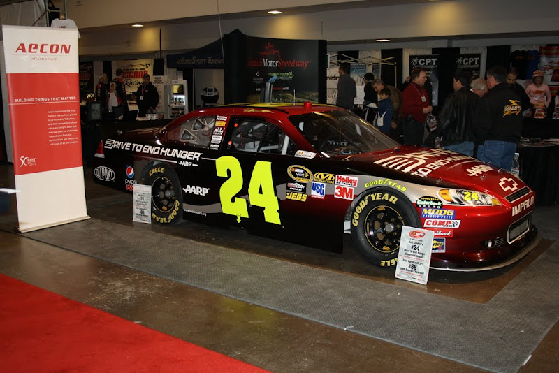 Jeff Gordon's car.