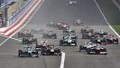 2013 Bahrain F1 GP Race start