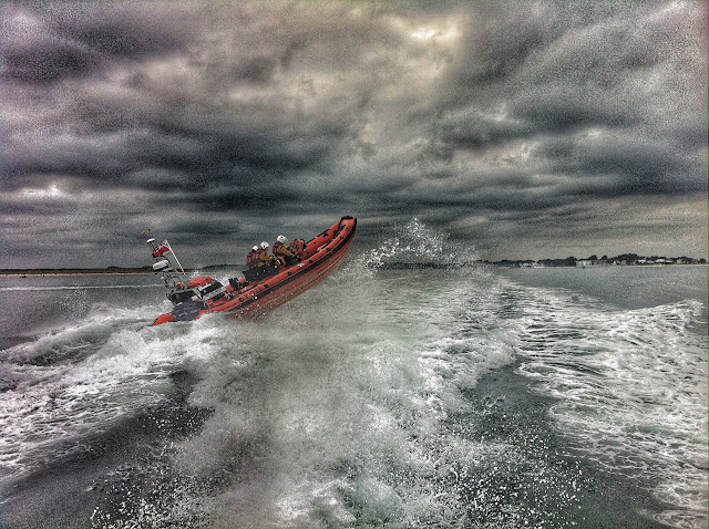 ILB training exercise in Poole Bay - July 2015.  Photo credit: Dave Riley