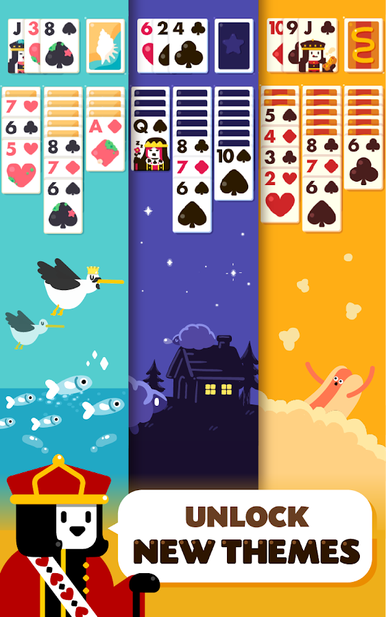 Solitaire: Decked Out Ad Free- screenshot