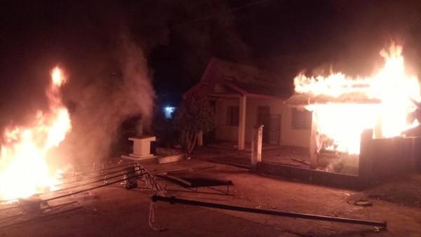 Warga Bakar Kantor Desa Gegara Kecewa BLT Tak Tepat Sasaran