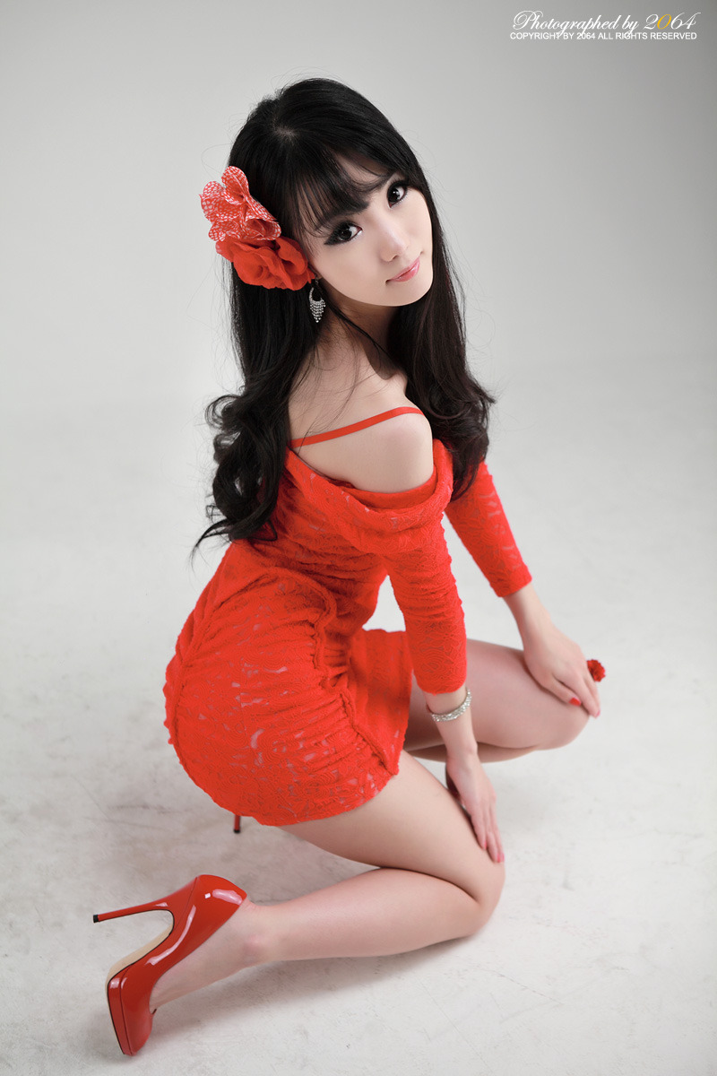 Sexy+Im+Soo+Yeon%21 006 Beautiful Im Soo Yeon Photos in Red Dress