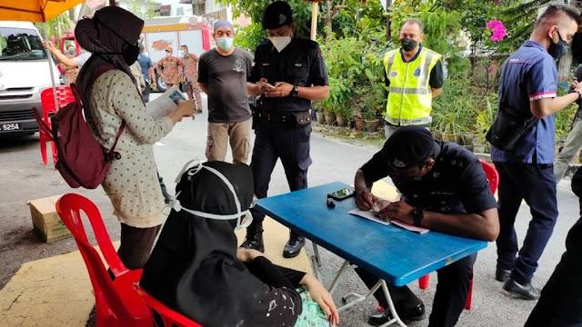 Dua wanita sesat Bukit Saga dikompaun kerana tiada permit