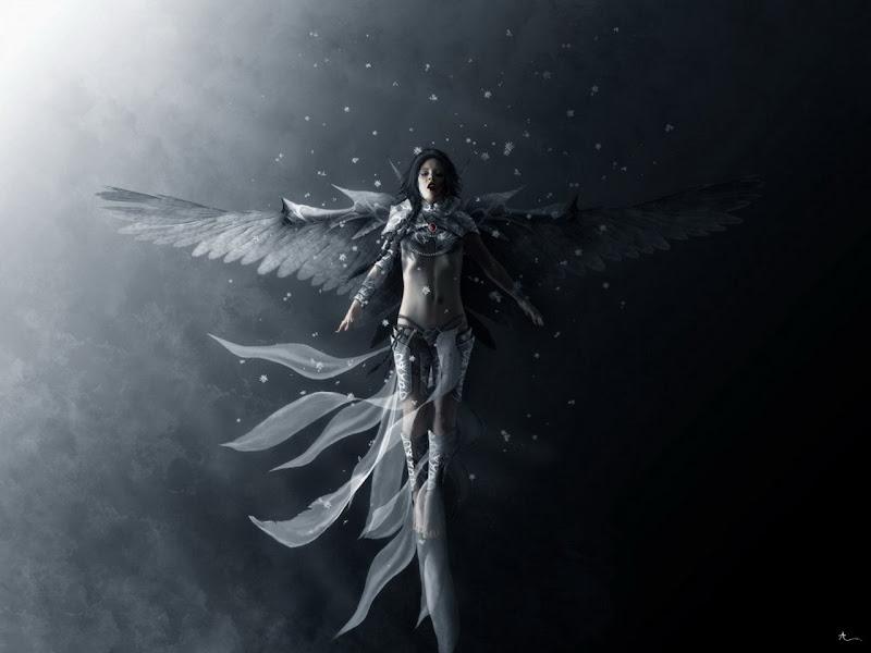 Angel Of Snow Wind, Angels