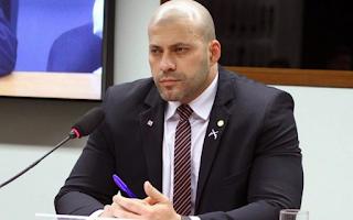 Daniel Silveira deu prejuízo de R$ 220 mil aos cofres públicos segundo MPF