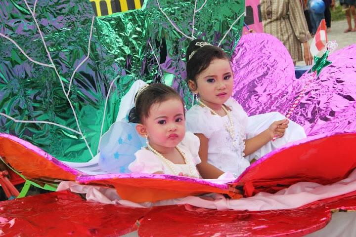 karnaval anak majene 2013 tema putri