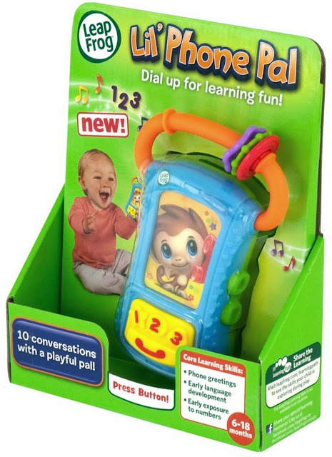 Hình ảnh bao bì sản phẩm Điện thoại cho bé LeapFrog