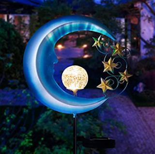 LED Moon Light, Solar powered light, garden light, Moon Light