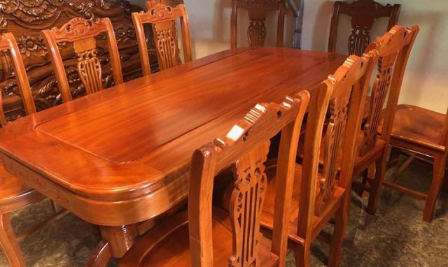 Tác dụng và giá thành của gỗ căm xe trong nội thất