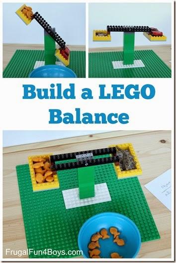 Lego Balance Math Activity