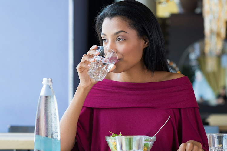 Make water your sip of choice if you're trying to lose a couple of kilos.