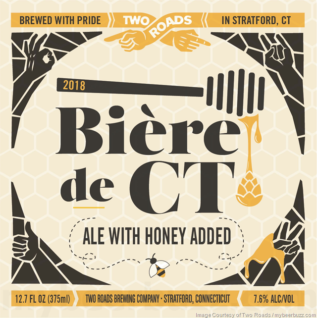 Two Roads Adding Biére de CT 2018
