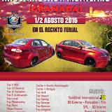 XII Tuning Show - Montefrio (Granada) 1/2 Agosto 2015