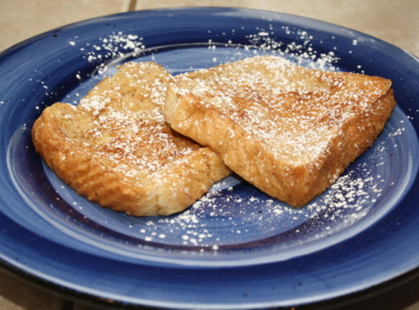Vanilla Spiced Egg Nog French Toast Recipe