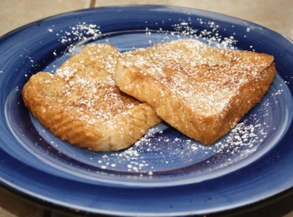 Vanilla Spiced Egg Nog French Toast Recipe