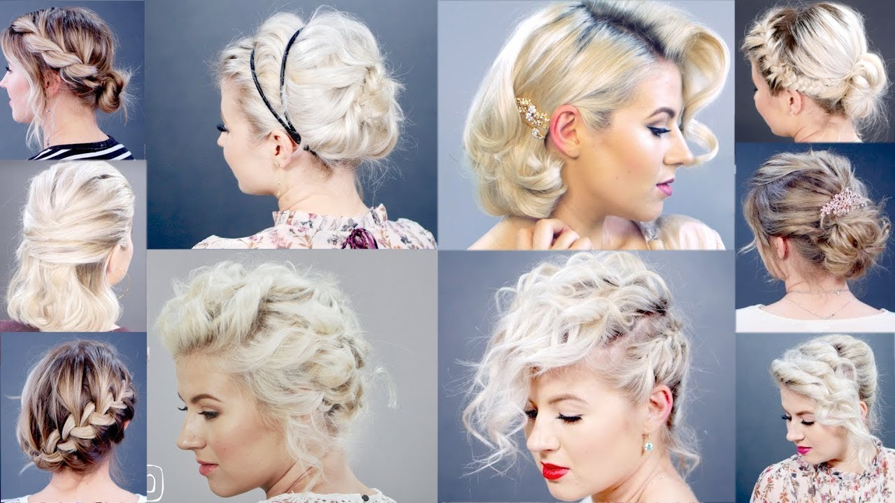 FABULOUS PARTY HAIR STYLES FOR ATTRACTIVE LADIES THROUGH HOLIDAYS 1