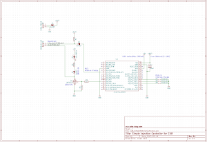 カブ簡易インジェクションコントローラの回路図