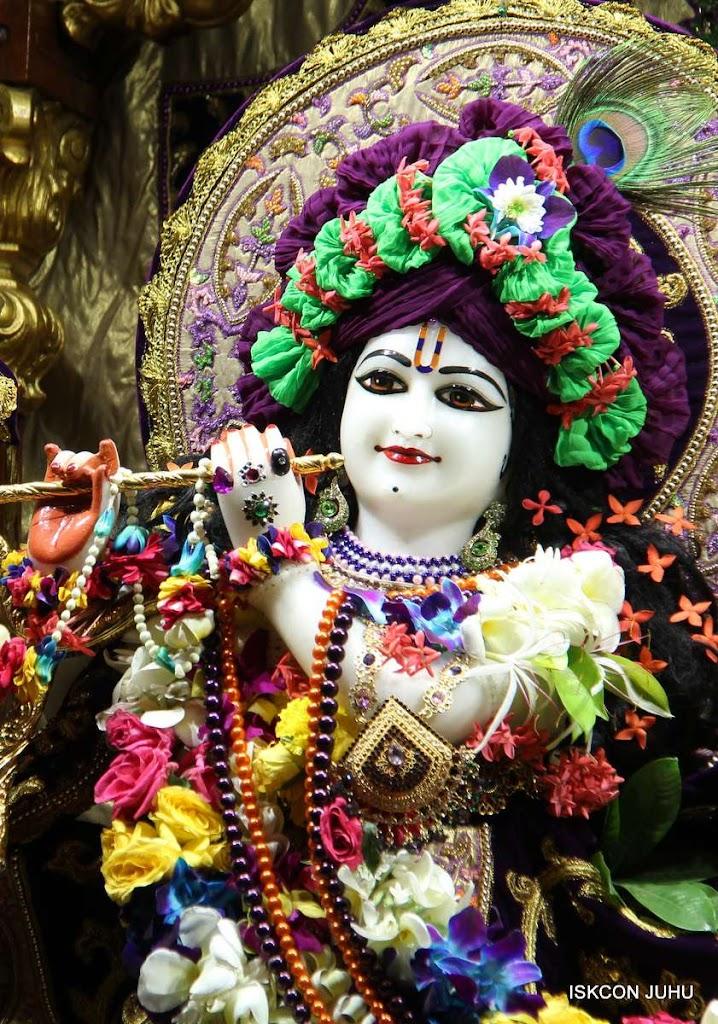 ISKCON Juhu Sringar Deity Darshan 19 Dec 2015 (15)